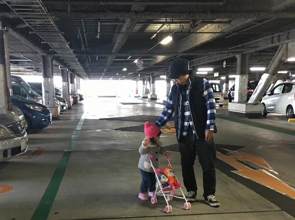 娘と2人でのおでかけ(2歳児編)